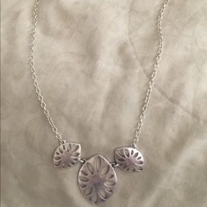 The sack silver necklace